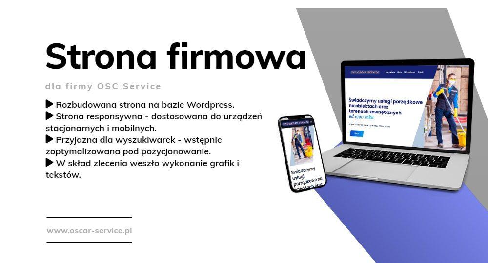 Strona internetowa - blog